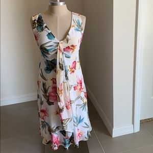 VENUS TANK FLORAL DRESS GU SZ 6 SPRING SUMMER